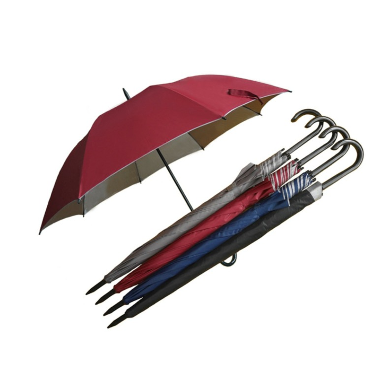 Golf Umbrella with J shaped handle (30 Inch)