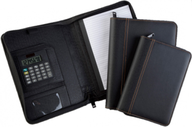 A4 Folder with Zip and Calculator P01