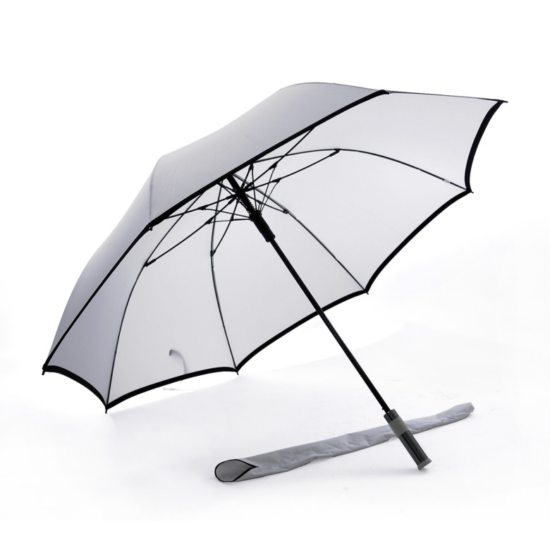 "Solid Colour, Auto Open, Windproof Golf Umbrella (30"")"