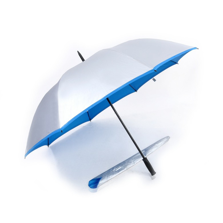 Auto Open, UV Coated, Windproof Golf Umbrella