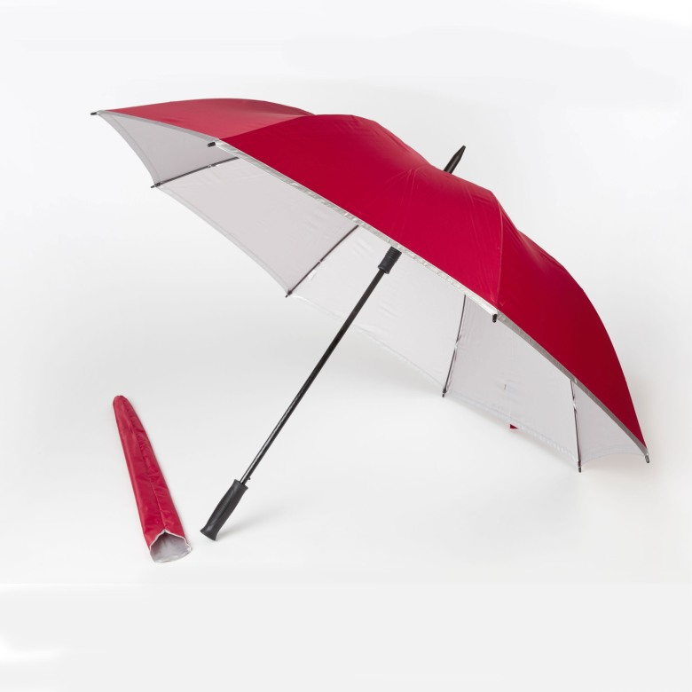UV Coated Interior, Windproof Golf Umbrella