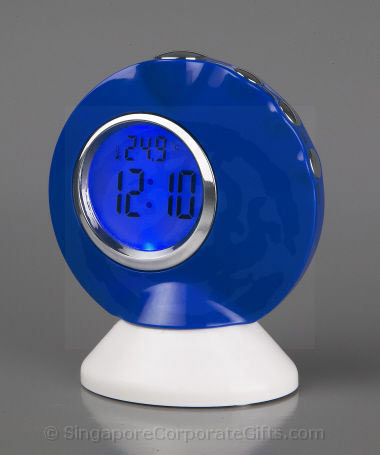 Desktop Music Talking Clock  with Thermometer