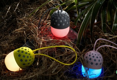 Firefly Waterproof Bluetooth Speaker with LED