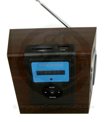 MP3 Speaker with Radio and Multi-Card Reader ID-23