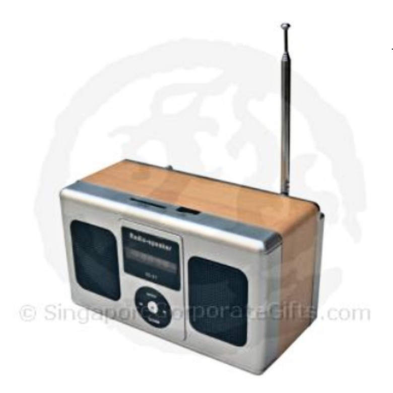 MP3 Speaker with Radio and Multi-Card Reader ID 21