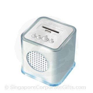 High End MP3 Speaker (Thumdrive and SD Card Input) Cube