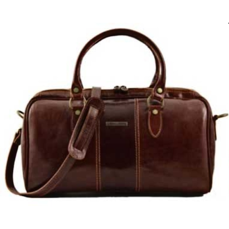 Monte Carlo - Mini - Travel leather bag