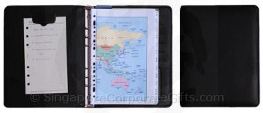 A5 Refillable Diary with Magnetic Memo Clip