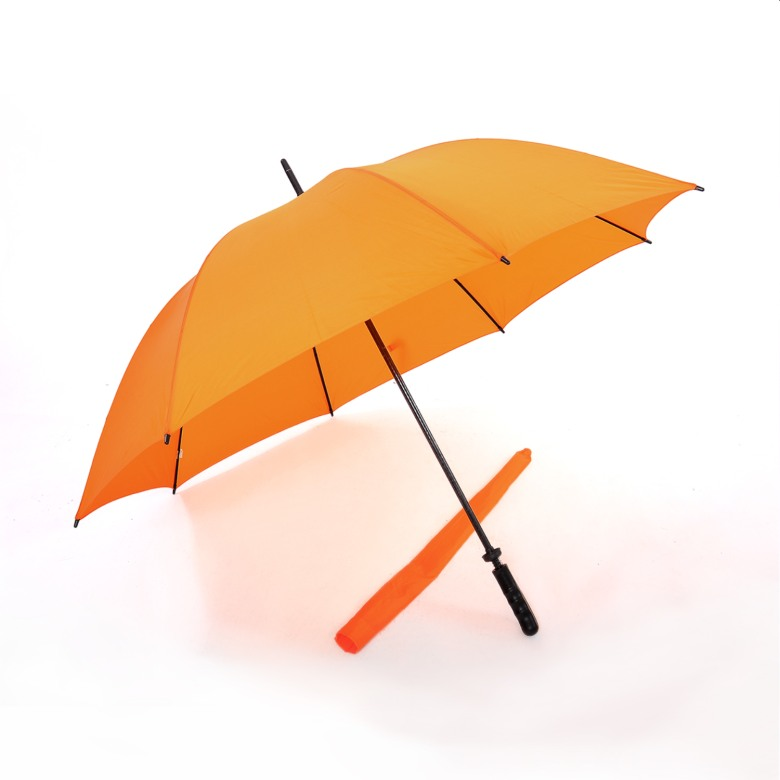 "Solid Colour, Windproof Golf Umbrella (30"")"