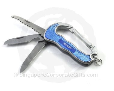 Multi-Function Knife with Carabiner K-7092