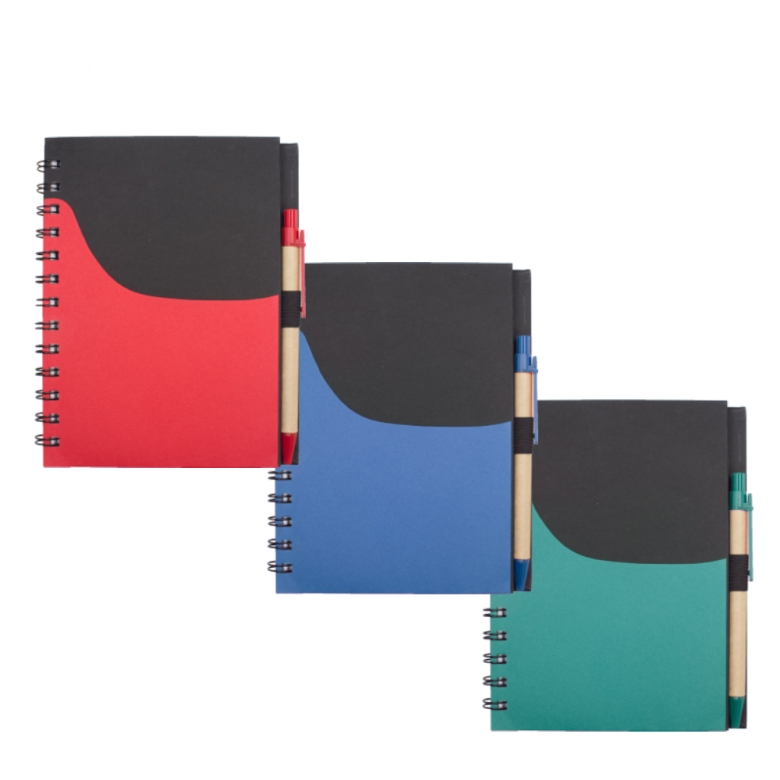 Notebook w/ Pen & Pocket