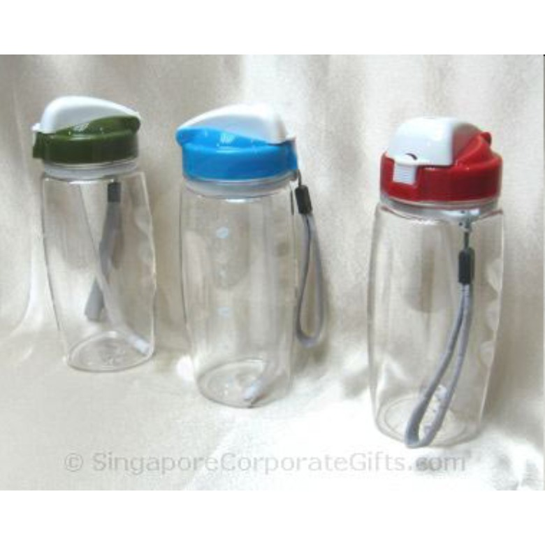 Polycarbonate Bottle With Straw (550ml) PCB-550