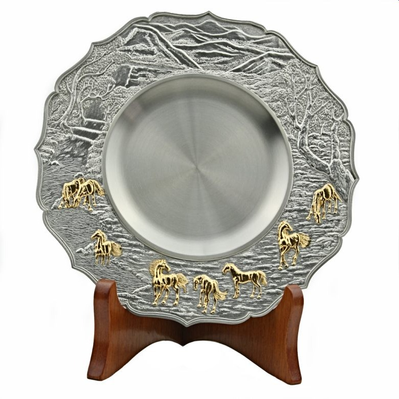 Pewter Plate Award [Horse]