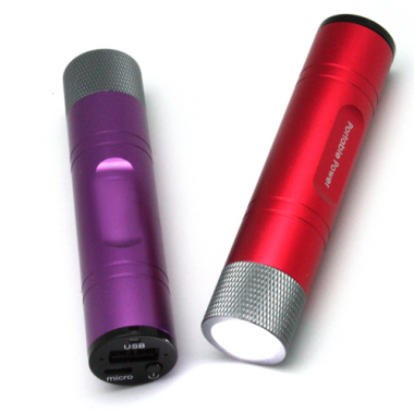 Power Bank with LED Torch (3000mAh)