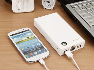 Power Bank with Compass and LED  (13200mAh)