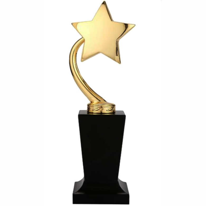 Single Golden Star Trophy