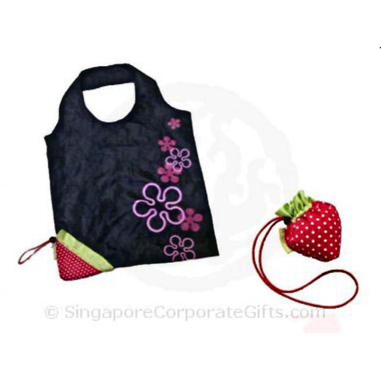 Strawberry Foldable Bag 2