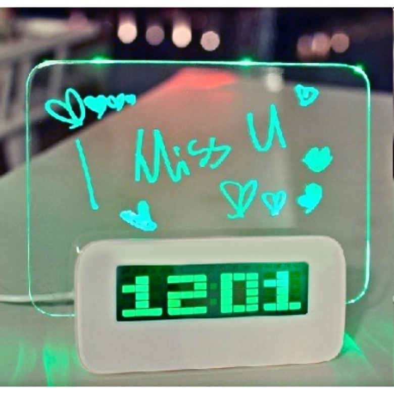 LED Message Board, Alarm Clock anc 4 USB Port