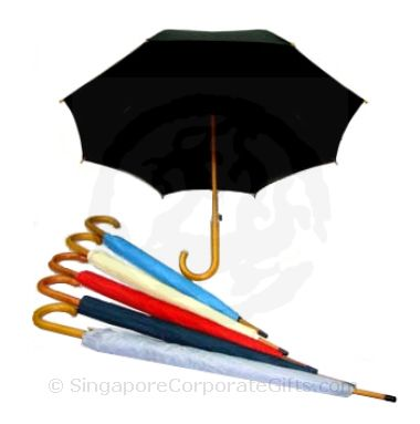 Exclusive Umbrella with wooden handle, Shaft and quality fabric