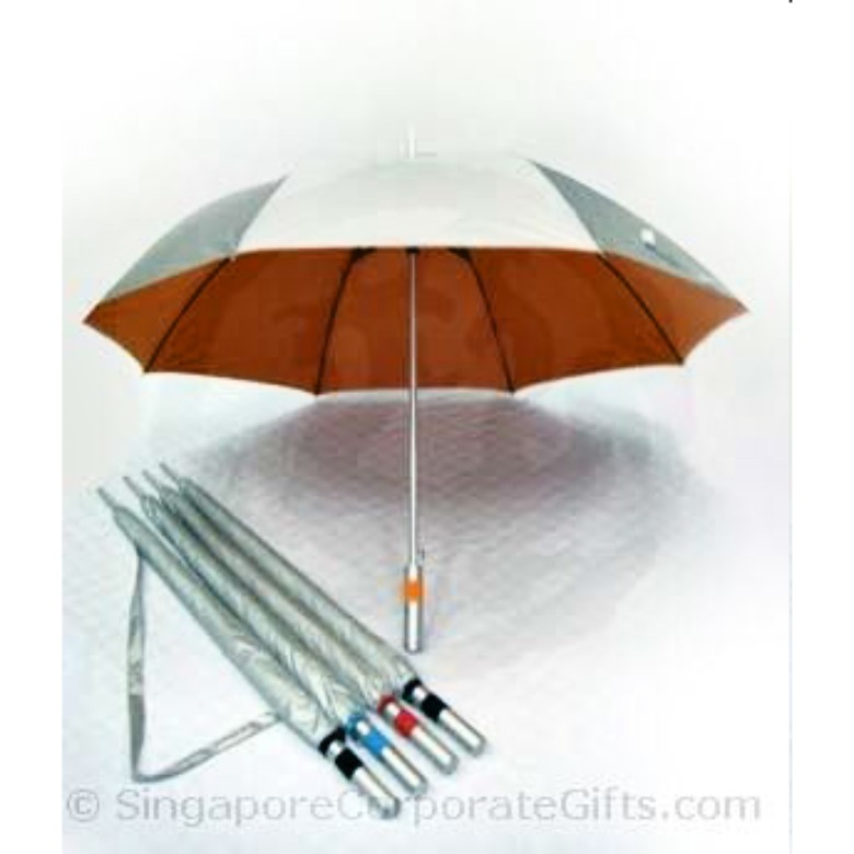 "Umbrella with UV Protectin and sling pouch (27"")"