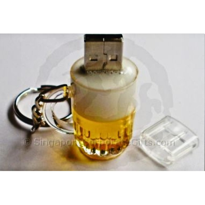 Beer Mug Thumbdrive (Trek Micro SD 4G)
