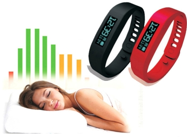 Bluetooth Bracelet with Sports & Sleep Tracker and Camera Shutte