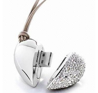 Jewellery Thumbdrive - Heart 1 (4 G)