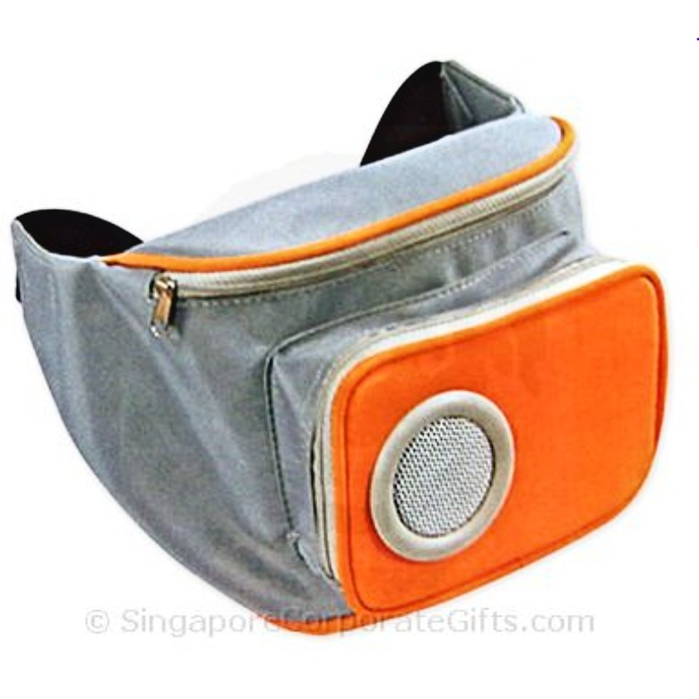 Waist Pouch with Speaker