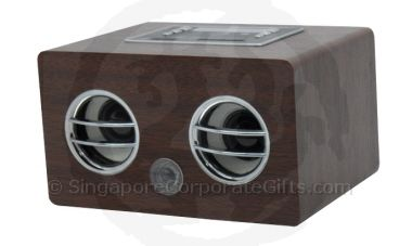 Wooden look MP3 Speaker